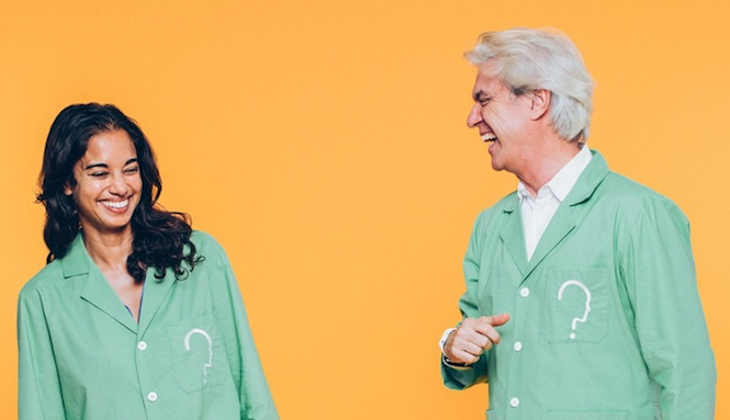 "David Byrne announces ""immersive theatrical"" art exhibition on neuroscience"