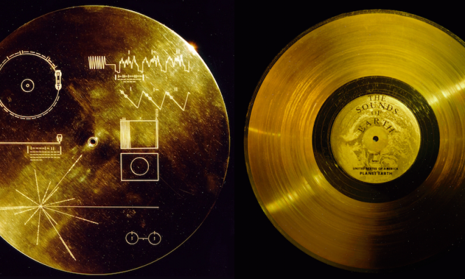 Steering the Voyager Golden Record back to Earth