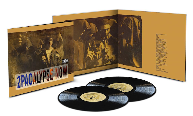 Tupac&#8217;s debut album <em>2Pacalypse Now</em> reissued on vinyl