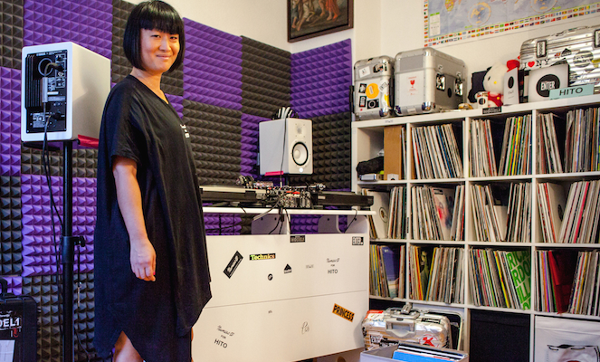 Inside Hito's unique collection of techno 12″s and Japanese pressings