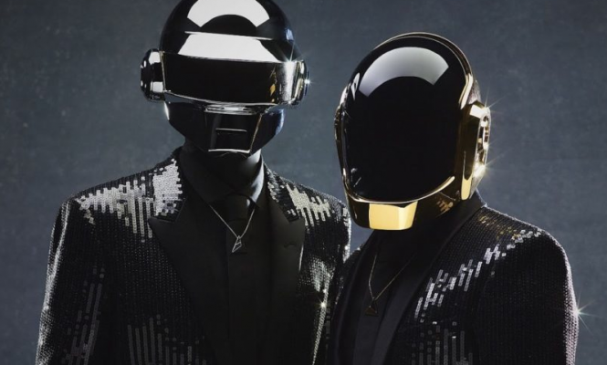 "Daft Punk release limited edition ""archival ink"" portrait painting"
