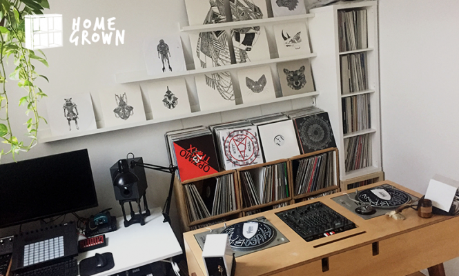 Home Grown: An accidental collector with an Atocha DJ desk