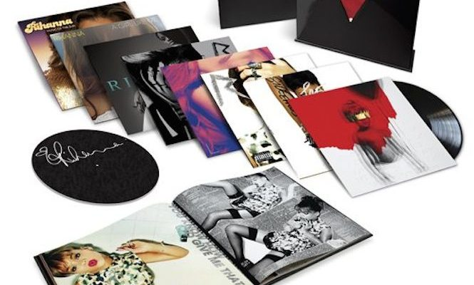 Rihanna's career traced in 15xLP box set