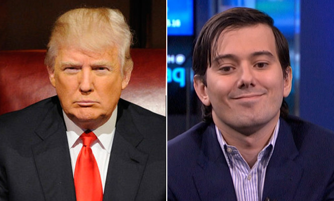Will Martin Shkreli release unheard Nirvana, Beatles, Wu-Tang Clan now Trump is President?
