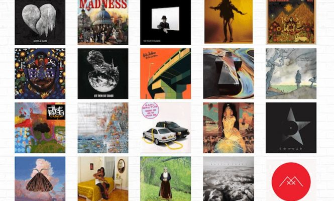 Vote for your favourite vinyl cover artwork of 2016