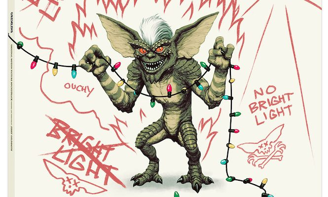 Mondo release <em>Gremlins</em> soundtrack with water and light-sensitive record sleeve