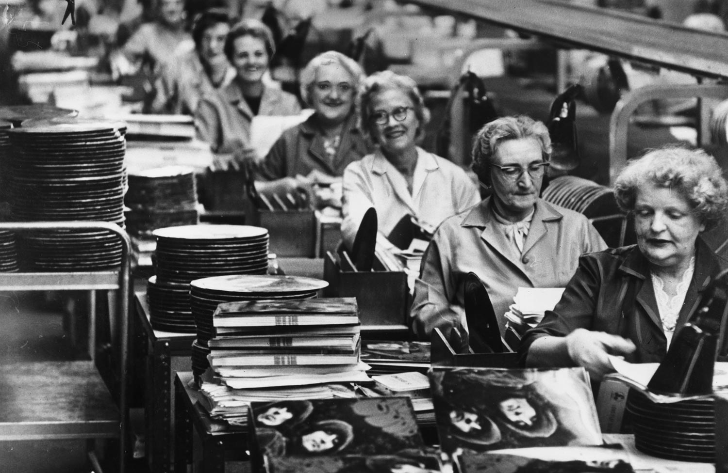Image result for old record pressing plant