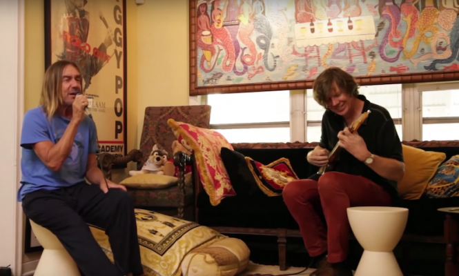 Watch Iggy Pop and Thurston Moore hang out in this new film
