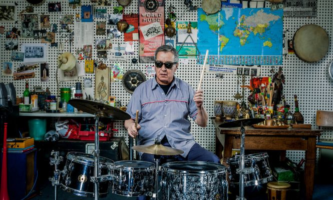 """Every tune we played I designed a special rhythm"": Can's Jaki Liebezeit in his own words"