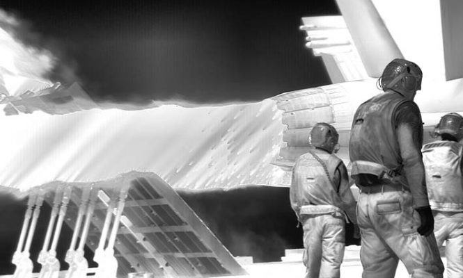 Richard Mosse and Ben Frost collaborate on immersive video installation about refugee crisis