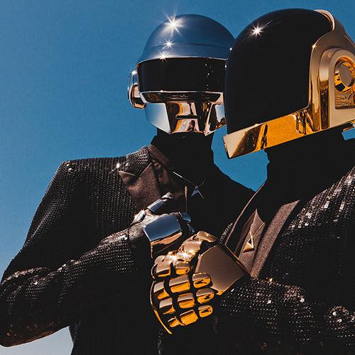 Daft Punk Portait