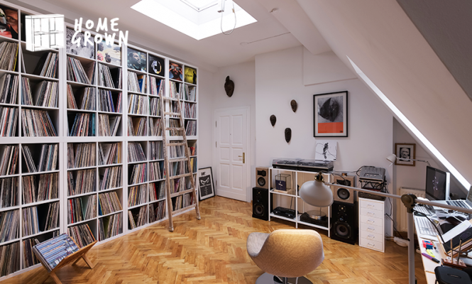 Home Grown: A Berlin crate-digger with a bespoke sound system