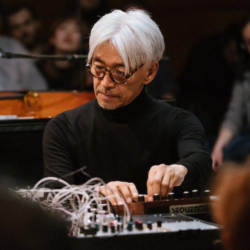 Ryuichi Sakamoto Portait