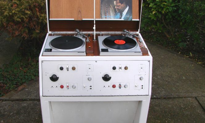 Vintage BBC Technics studio turntables and console up for sale on eBay