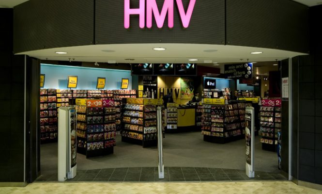 HMV to close all 102 stores in Canada