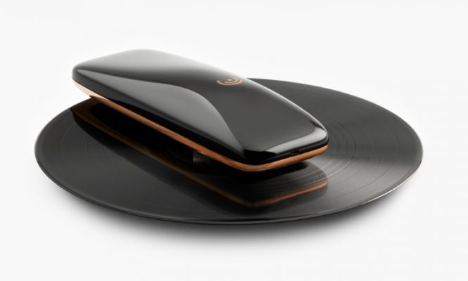 "This new smartphone-controlled ""turntable"" spins on your records"