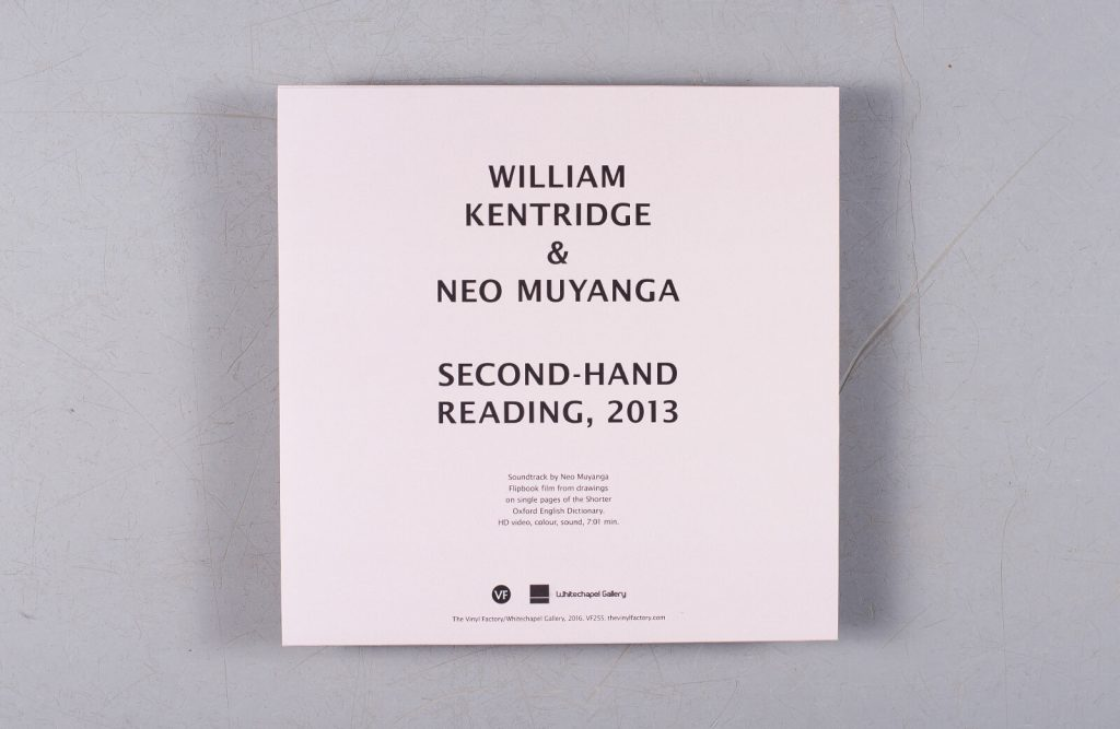 William Kentridge S Second Hand Reading Vinyl Launches At