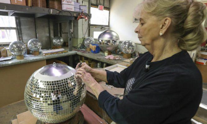 Meet Yolanda 'Yo Yo' Baker, America's last disco ball maker