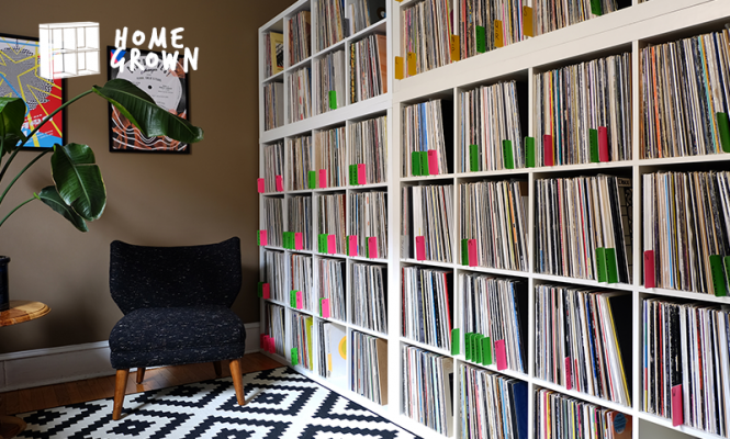 Home Grown: Meticulous vinyl archive and a Rane rotary in Chicago