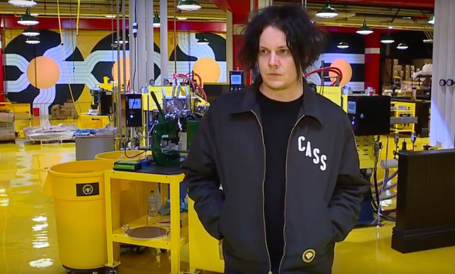 """Everything is possible"": Jack White gives a tour of Third Man's new pressing plant"