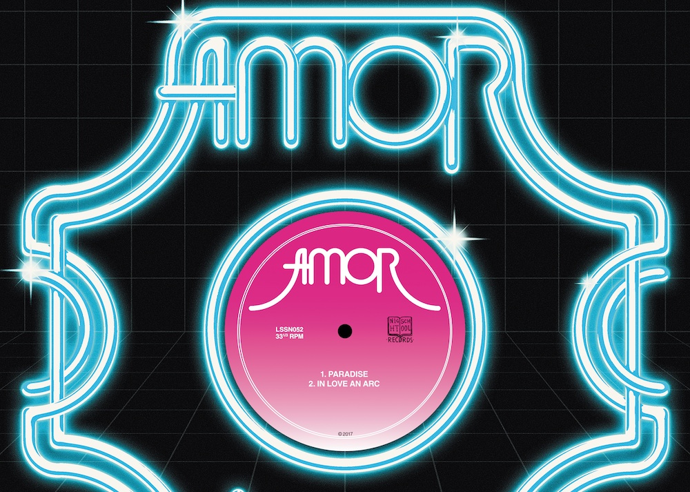 Stream the belting debut 12″ from avant-disco outfit AMOR