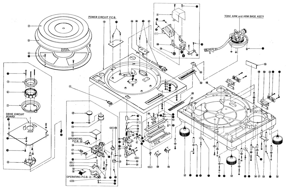 technics diagram the complete guide to buying second hand technics sl 1200 turntables technics 1200 tonearm wiring diagram at readyjetset.co