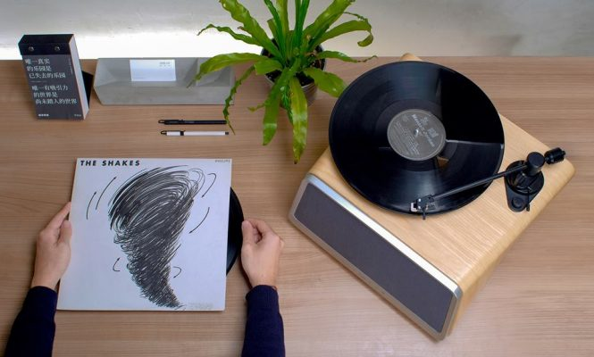 "This all-in-one turntable system promises to be ""everything you need"""