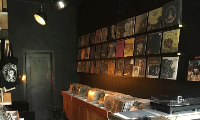 A new heavy metal record shop has opened in London