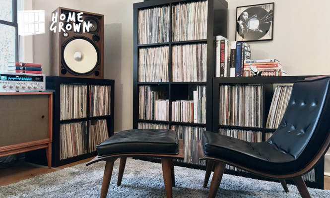 Home Grown: A jazz fanatic with a vintage set-up