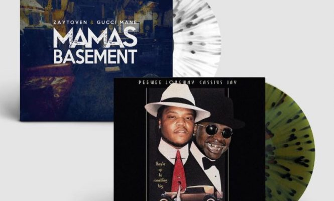 Gucci Mane and Zaytoven's <em>Mama's Basement</em> mixtape gets splatter vinyl release