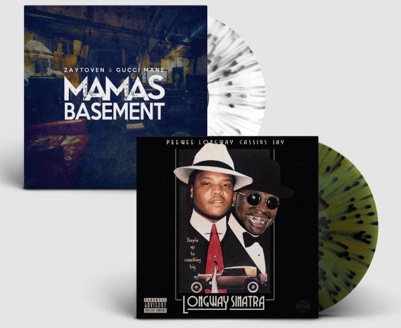 Gucci Mane and Zaytoven's <em>Mama's Basement</em> mixtape gets splatter vinyl release