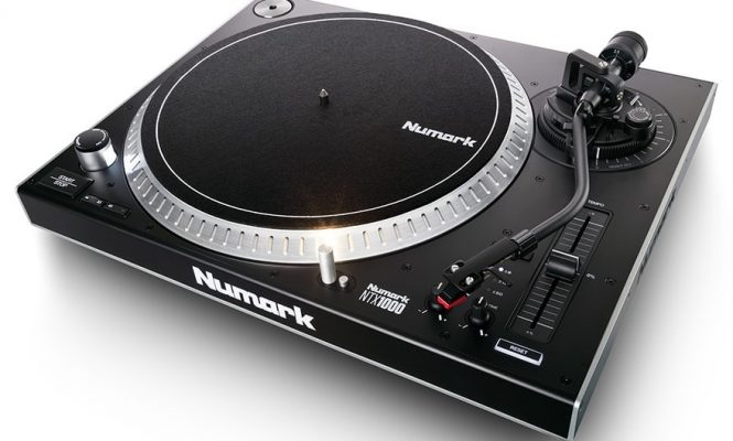 Numark launches new affordable direct-drive turntable, NTX1000