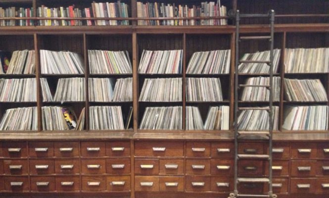 Take a peek inside Frankie Knuckles' record collection