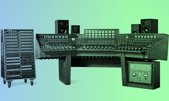 How Pink Floyd's recording console become the most expensive in history