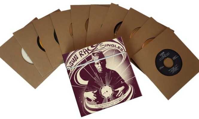 Second volume of rare Sun Ra singles to be released as 10×7″ box set