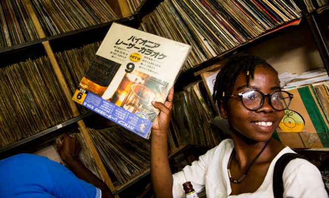 Record Store Day at Jimmy's, the vinyl man of Kenyatta Market
