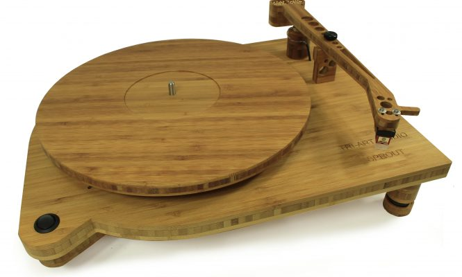 Tri-Art unveils new bamboo finished turntable