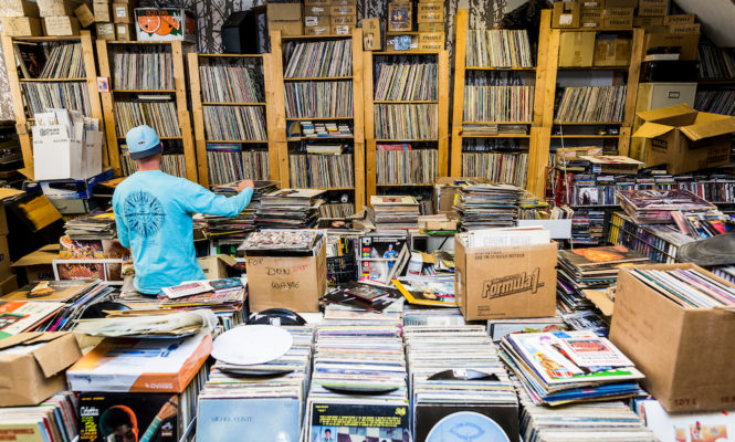 Watch the world's first TEDx talk on the culture of record digging