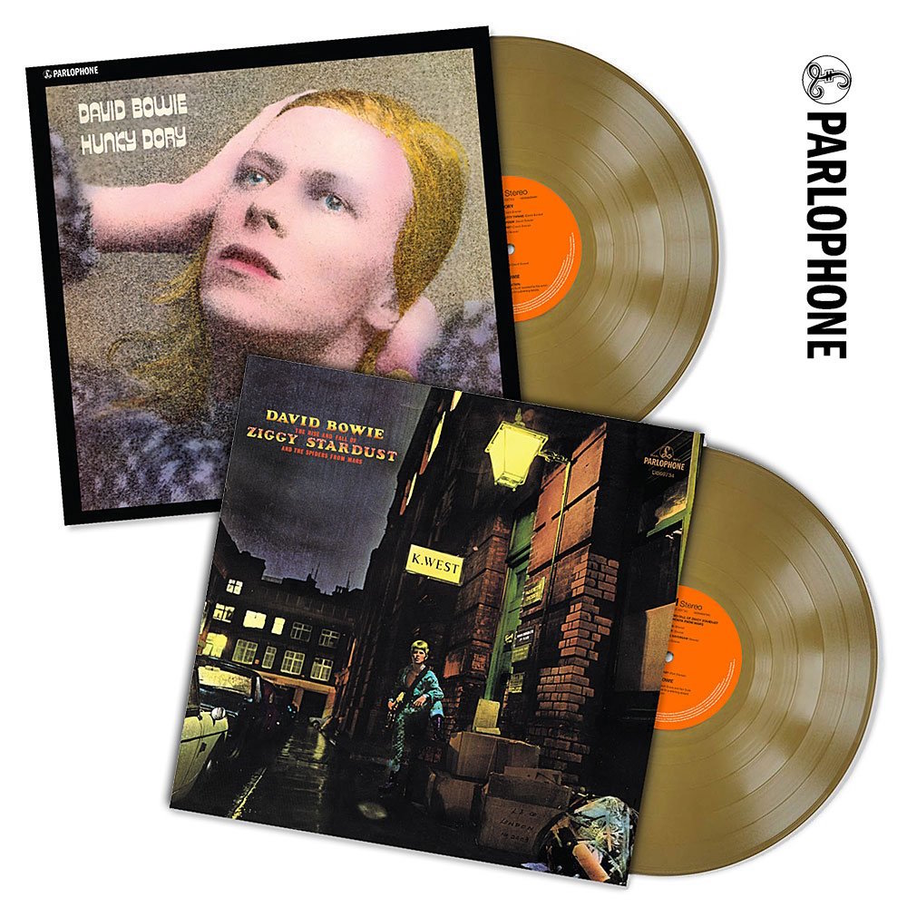 David Bowie S Ziggy Stardust And Hunky Dory Released On