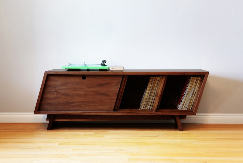 Learn to build your own modernist record player console