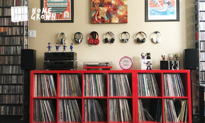 "Home Grown: ""My record collection is my sanctuary"""