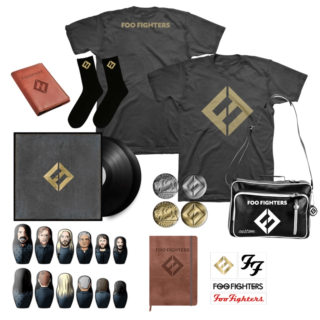 Foo Fighters To Release New Album Concrete And Gold On