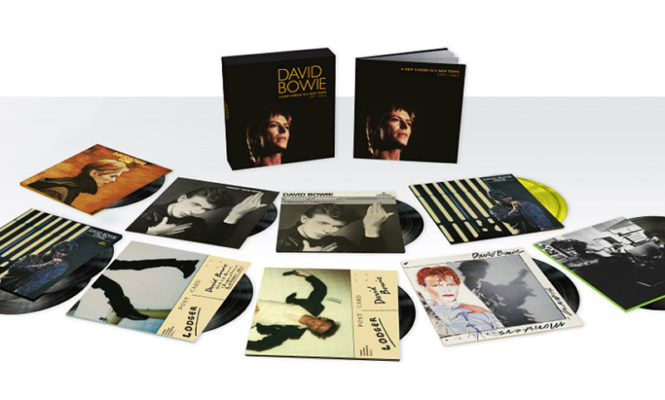 A new David Bowie 13xLP vinyl box-set has been announced