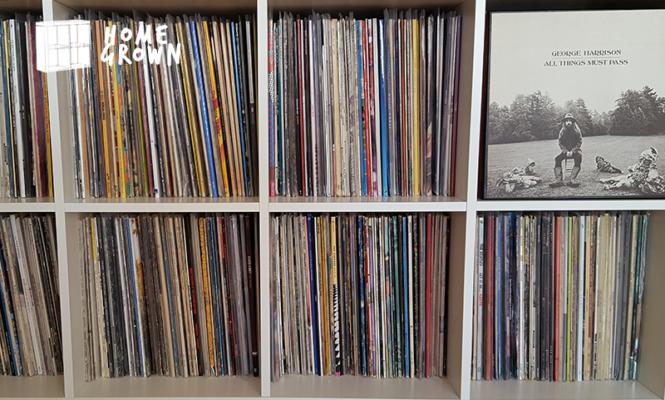 "Home Grown: ""If I'm having a bad day, all I have to do is pull out a record"""