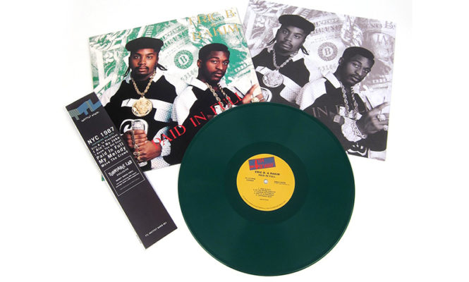 Eric B. &#038; Rakim&#8217;s seminal <em>Paid in Full</em> gets limited green vinyl reissue