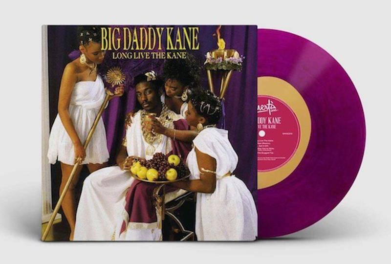 Big Daddy Kane's pioneering debut LP released on limited edition purple vinyl