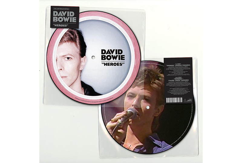"""David Bowie's 'Heroes' announced as latest, limited-edition 7"""" picture disc single"""