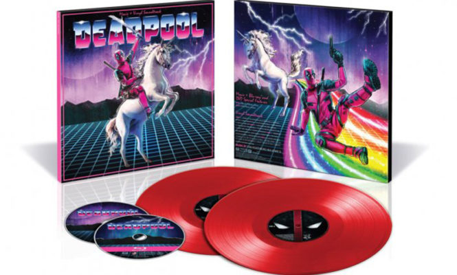 Check out the exclusive vinyl releases at Comic Con 2017