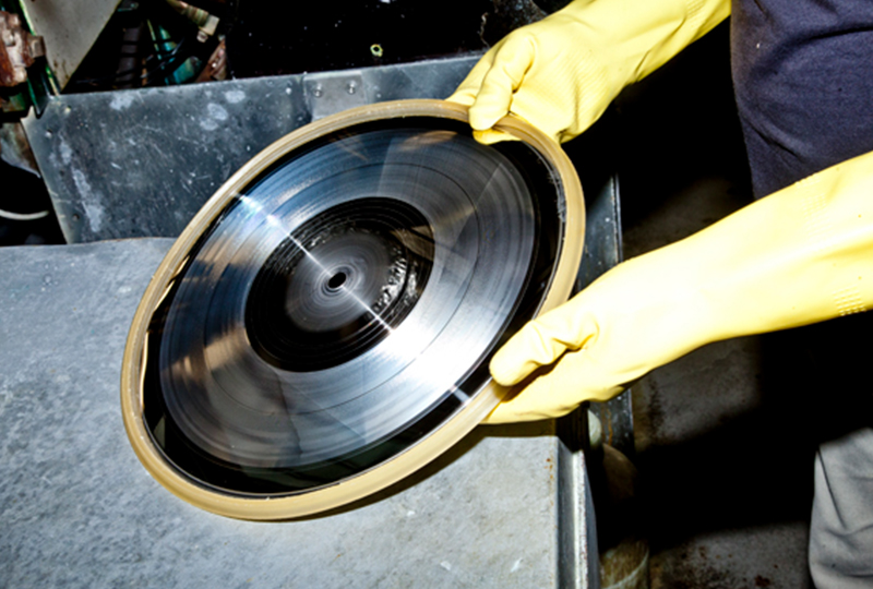 A new record pressing plant is opening in California