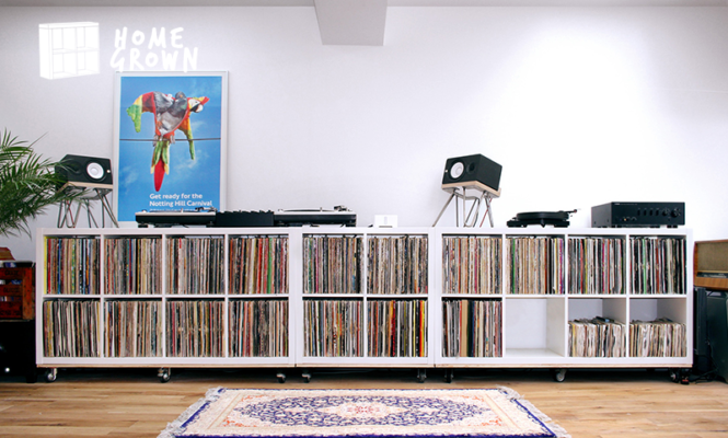 Home Grown: The collector with 15 years of dancehall, reggae and hip-hop records